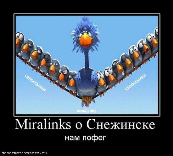 Миралинкс не парится