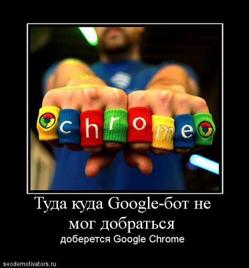 Google Chrome отправляет контент страниц в индекс