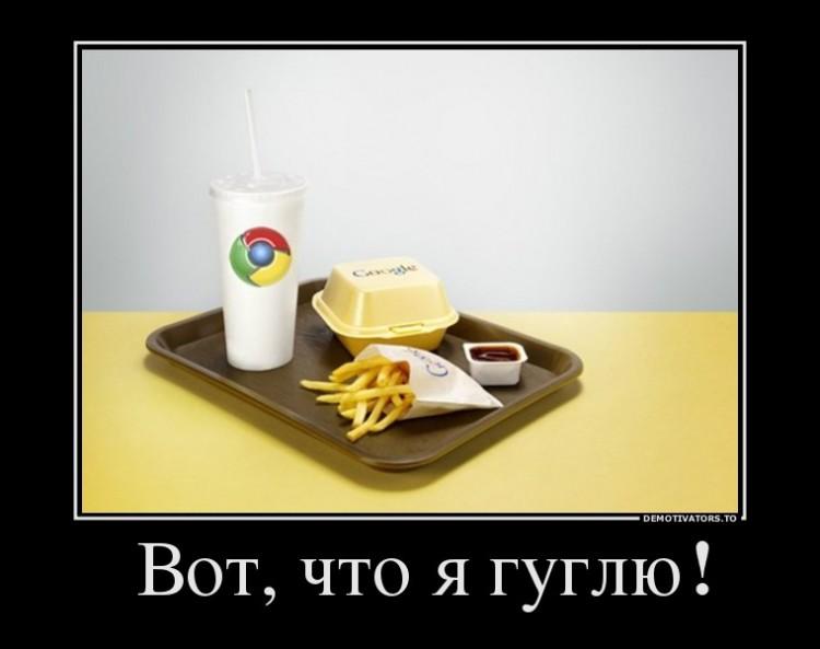 Вот, что я Гуглю!