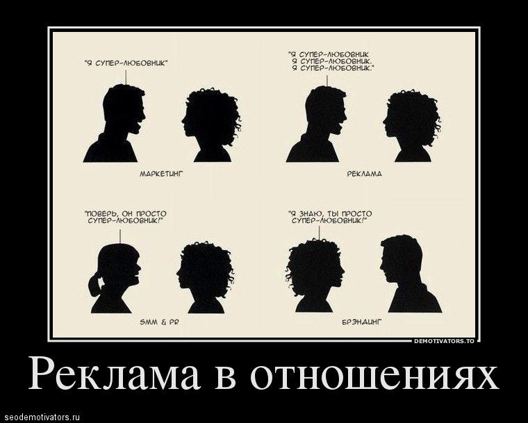 Реклама в отношениях