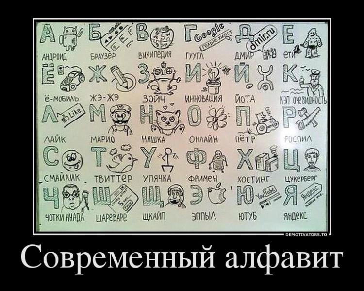 Интернет алфавит
