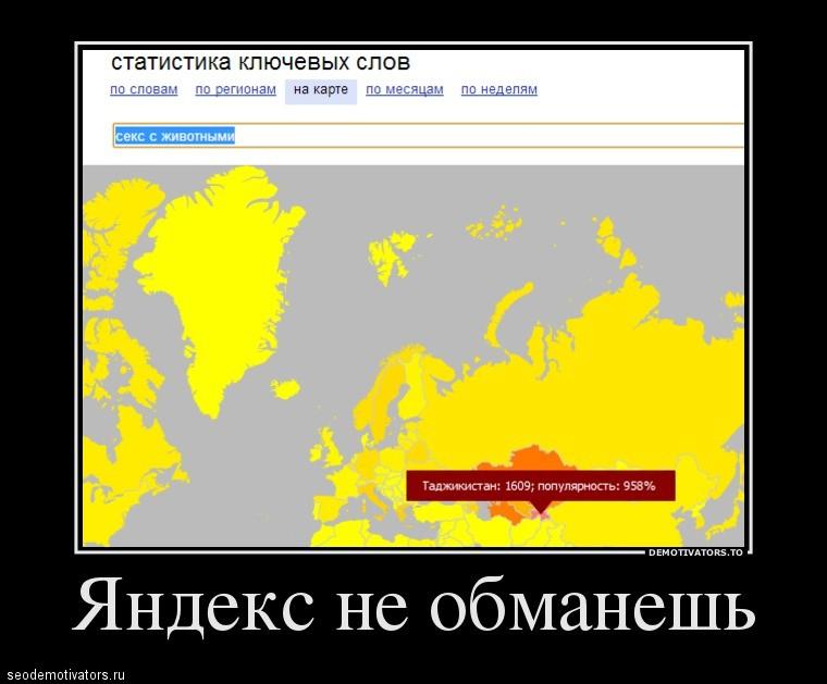 Яндекс не обманешь
