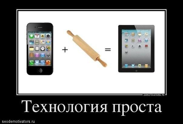 Технология проста (iPad)